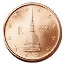 0,02 Euro-Münze Italien