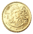 0,10 Euro-Münze Italien