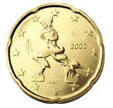 0,20 Euro-Münze Italien
