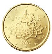 0,50 Euro-Münze Italien