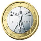 1 Euro-Münze Italien