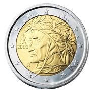 2 Euro-Münze Italien